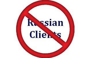 Stopping Service to Russian Clients