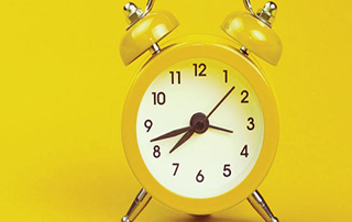 clock yellow