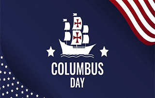 Columbus Day Announcement 2020