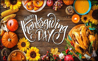 Fxglory announcement for the US Thanksgiving Day 2020